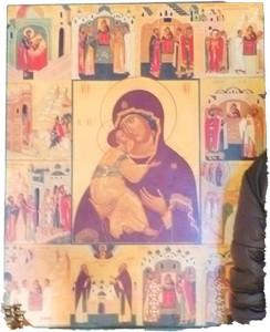 Икона Владимирской БМ